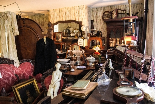 Artifacts at Dallas Heritage Village
