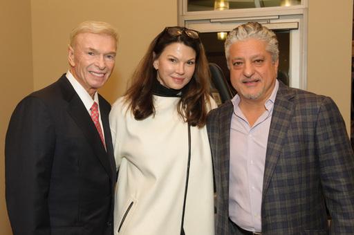 Gene & Roxanne Phillips with Mehrdad Moayedi