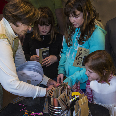 Kids will enjoy crafts.