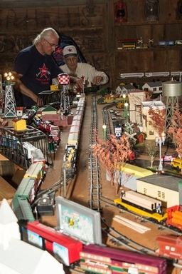 Visit the American Flyer Model Trains in Depot